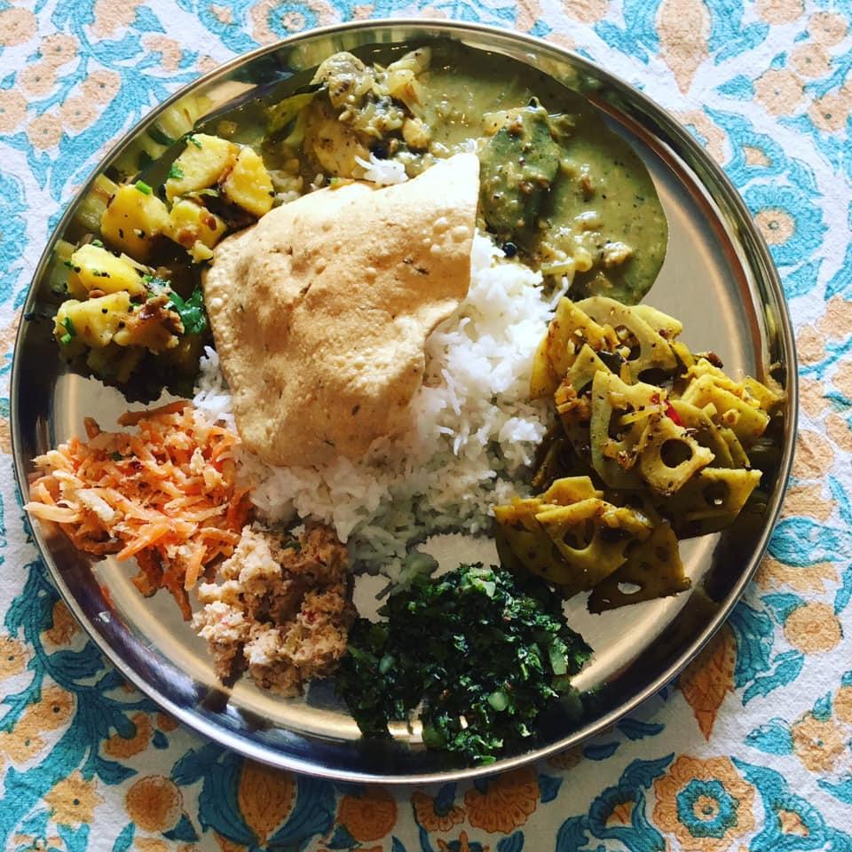 スリランカ料理教室の制作例の写真