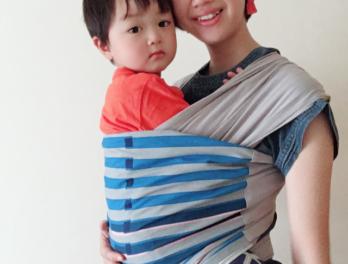 WA babywrapを運営する須佐瞳さんの写真
